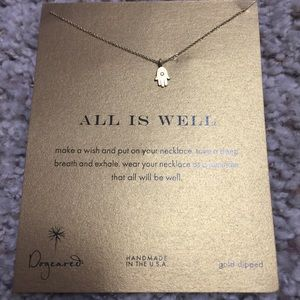Dogeared All is Well necklace